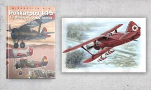 Polikarpov I-15 Red Army & Book Polikarpov I-15 - Airprofile n.2