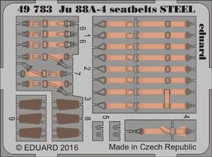 Ju 88A-4 seatbelts STEEL