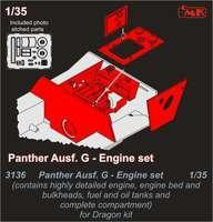 Panther Ausf.G Engine set for Drag.kit