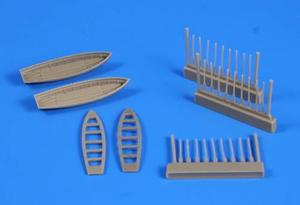 6 m Cutter (2pcs) with paddles for Trupeter