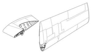 F4F Wildcat - wing fold set for HAS