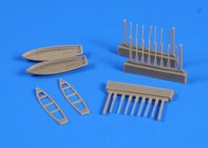 8 m Cutter (2pcs) with paddles for Trupeter