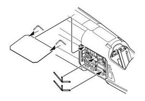 TSR-2 lectronic bay for Airfix kit