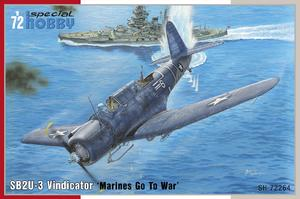 "SB2U-3 Vindicator ""Marines Go To War""  - 1"