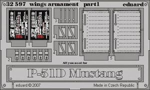 P-51D wings armament
