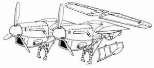 Beaufighter Mk.IIF - conversion set for TAM