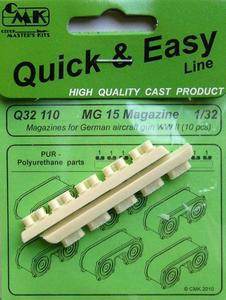 MG 15 Magazines for WWII Germ.Guns(10pcs)