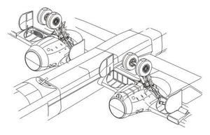 He-177A - undercarriage set for REV