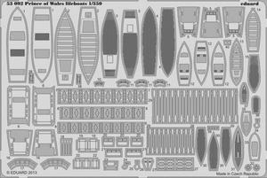 Prince of Wales lifeboats  1/350