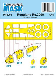Reggiane Re 2000 Mask
