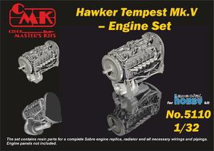 1/32 Tempest – Engine Set for Special Hobby kit  - 1