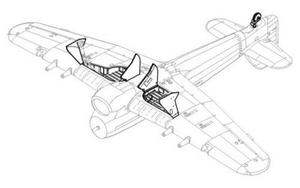 Hawker Typhoon Mk.I -undercarriage set for HA