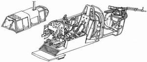 II - 2 m3 Sturmovik - interior set for ACC