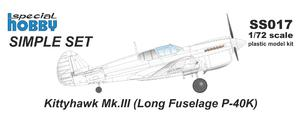 P-40K /Long Fuselage/ Simple Set