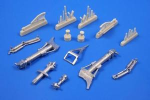TSR-2 Undercarriage legs for Airfix kit