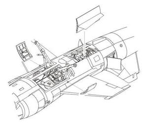 F-104S/G - engine set for HAS