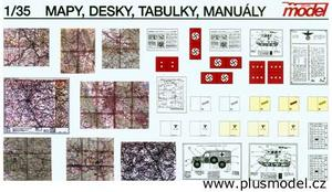 Maps, boards, manuals / Mapy, desky, manuály