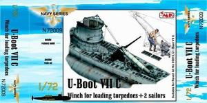 U-Boot VII Winch for loading torpedoes for RE