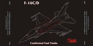 F-16C Fast Pack – armament set for HAS