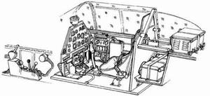 P-51A Mustang - interior set for ITA and CON