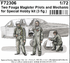 Two Fouga Magister Pilots and a Mechanic for 1/72 SH kit (3fig) - 1/2