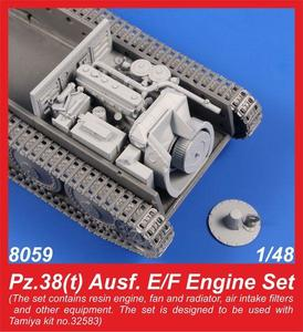 Pz.38(t) Ausf. E/F Engine Set  - 1