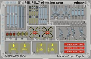 F-4 ejection seat grey