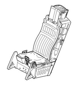 Ejection seat for F-16