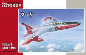 Folland Gnat F Mk.I British Single Seaters  - 1