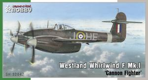 Westland Whirlwind Mk.I 'Cannon Fighter'  - 1