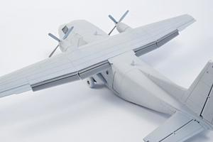 1/72 CASA C-212 Wing Flaps, for Special Hobby  - 1