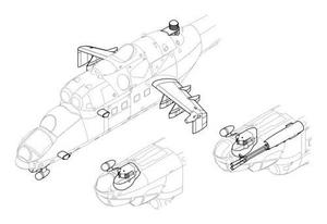 Mi-24 V/P - armament set for MON/REV