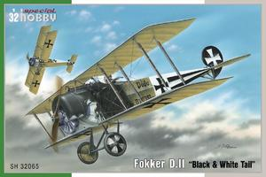 "Fokker D.II ""Black & White Tail"" 1/32  - 1"