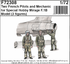 Two French Pilots and Mechanic for Special Hobby Mirage F.IB Model - 1/5