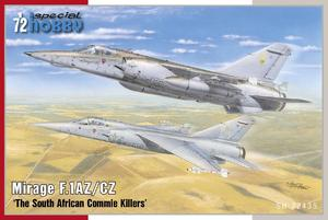 Mirage F.1AZ/CZ 'The South African Commie Killers'  - 1