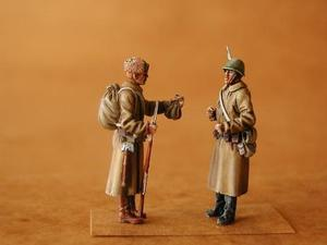 Russian Infantry WW II (2 fig.)