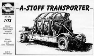 A-Stoff Transporter for V-2 (A-4) missile