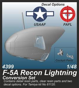 F-5A Recon Lightning Conversion Set   - 1