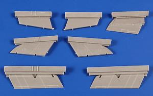 Supermarine Swift Control Surfaces