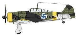 "Fokker D.Xxi ""FR-167 with Retractable"""