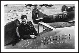 RAF Aces P. Clostermann (1.fig for Tempest)