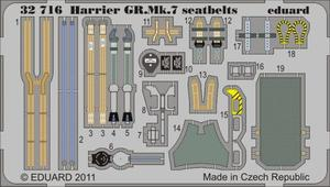 Harrier GR.Mk.7 seatbelts