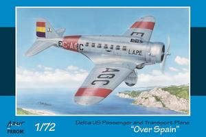 "Delta US Passenger and Transport Plane ""Over Spain""  - 1"