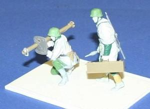 German soldiers with Panzerschreck (2 fig.)