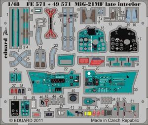 MiG-21MF late interior S.A