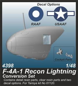 F-4A-1 Recon Lightning Conversion Set  - 1