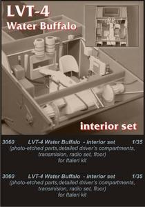 LVT-4 Water Buffalo - driver's set for ITA