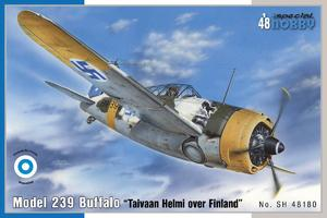 "Model 239 Buffalo ""Taivaan Helmi over Finland"" 1/48  - 1"