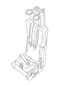 Lockheed C-1 Ejection seat for F-104C