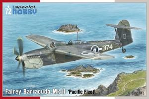 Fairey Barracuda Mk.II 'Pacific Fleet' 1/72  - 1